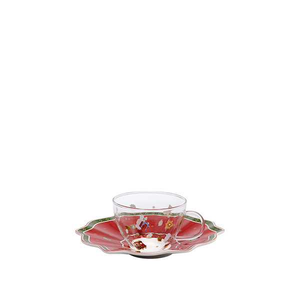 коледна чаша и чинийка Villeroy & Boch, Toy's Delight Tea cup & saucer