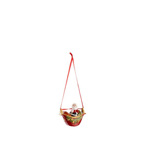 играчка за елха Villeroy & Boch, My Christmas Tree Gondola with Santa