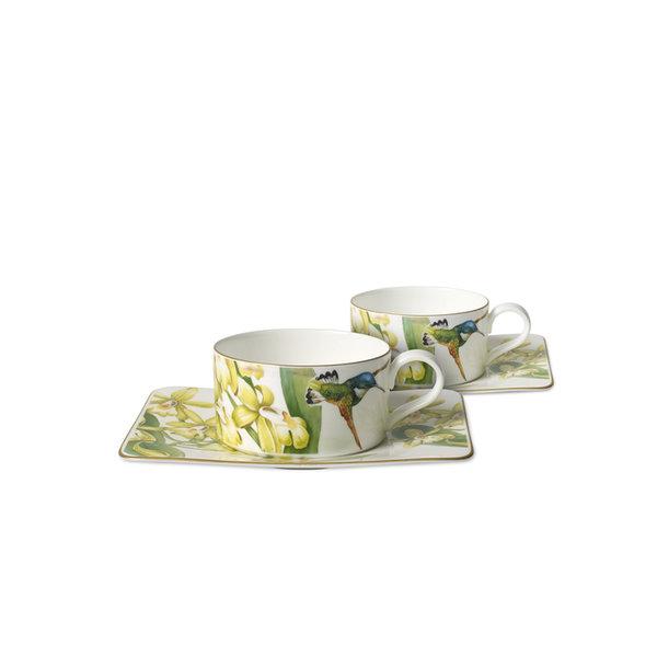 сервиз за чай Villeroy & Boch, Amazonia Tea set 4