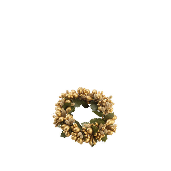 коледен ринг Villeroy & Boch, Classic Christmas Candle ring green/gold
