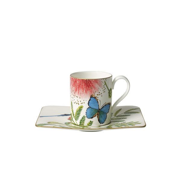 чаша с чинийка за кафе Villeroy & Boch, Amazonia Coffee