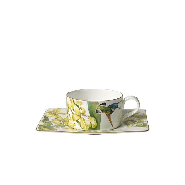 чаша и чинийка за еспресо Villeroy & Boch, Amazonia