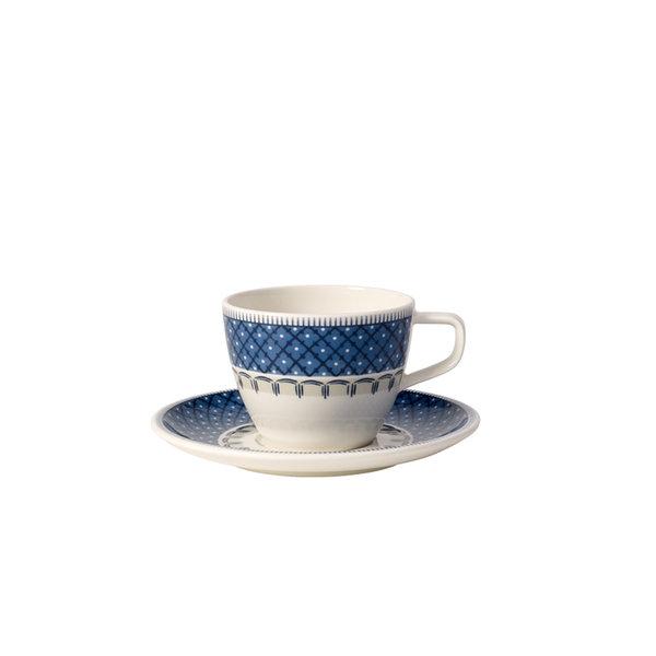 чаша и чинийка за кафе Villeroy & Boch, Casale Blu