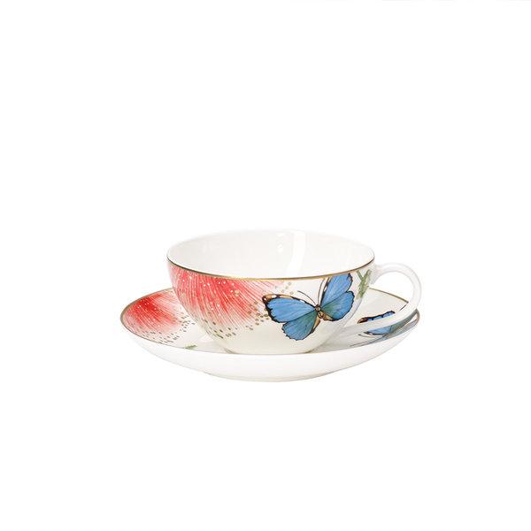 чаша и чинийка за чай Villeroy & Boch, Amazonia Anmut