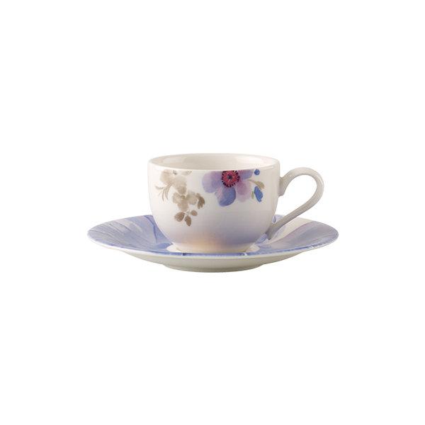 чаша с чинийка за еспресо Villeroy & Boch, Mariefleur Gris Basic Espresso