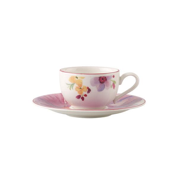 чаша с чинийка за еспресо Villeroy & Boch, Mariefleur Basic Espresso