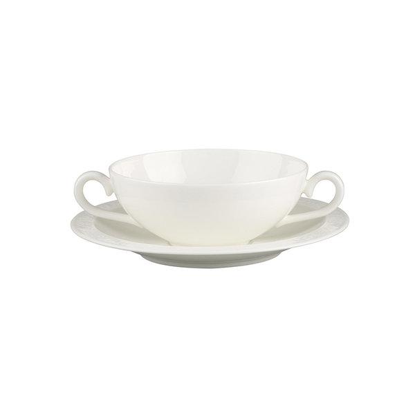 купичка за супа с чиния Villeroy & Boch, White Pearl Soup