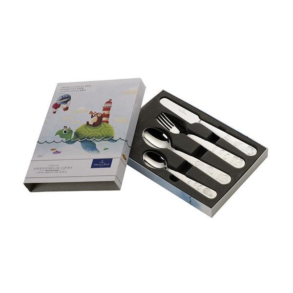 детски комплект за хранене 4 части Villeroy & Boch, Chewy Children