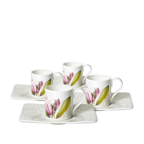 комплект чаши за еспресо Villeroy & Boch, Quinsai Garden Espresso Set