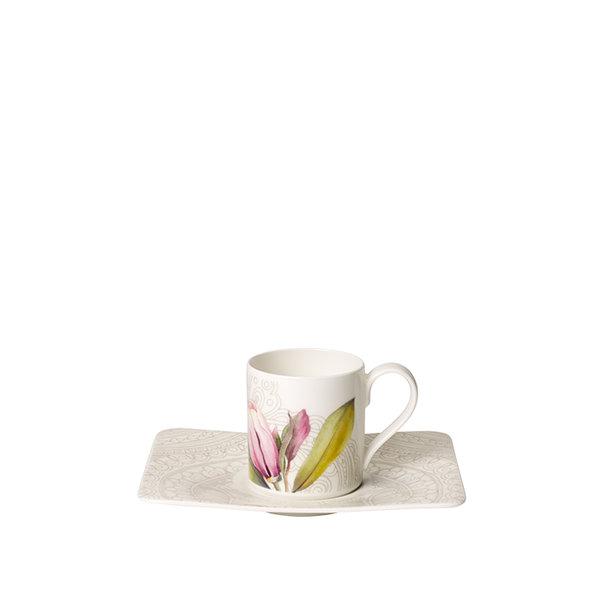чаша с чинийка за еспресо Villeroy & Boch, Quinsai Garden Espresso
