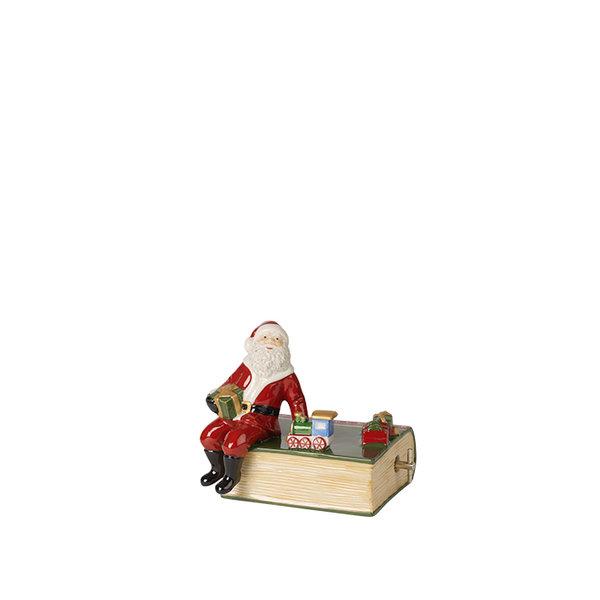 декоративна коледна фигура Villeroy & Boch, Nostalgic Melody Book with Santa