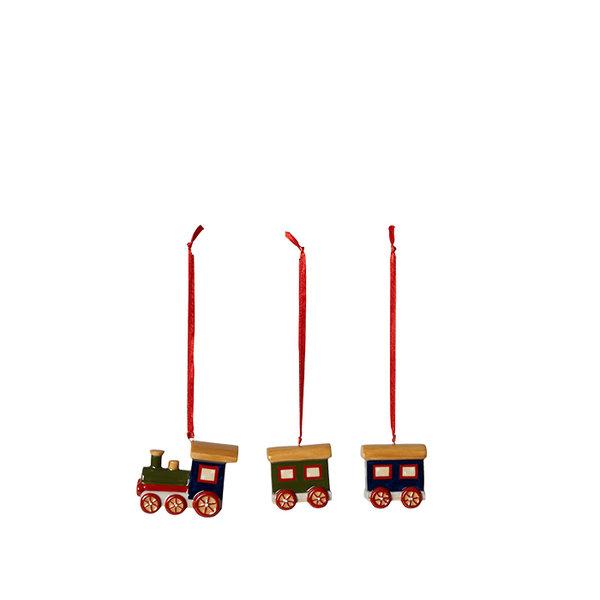 коледни играчки за елха Villeroy & Boch, Nostalgic Ornaments Ornaments train set