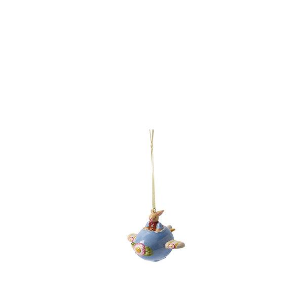фигура за закачане Villeroy & Boch, Bunny Family Ornament basket with bunny boy