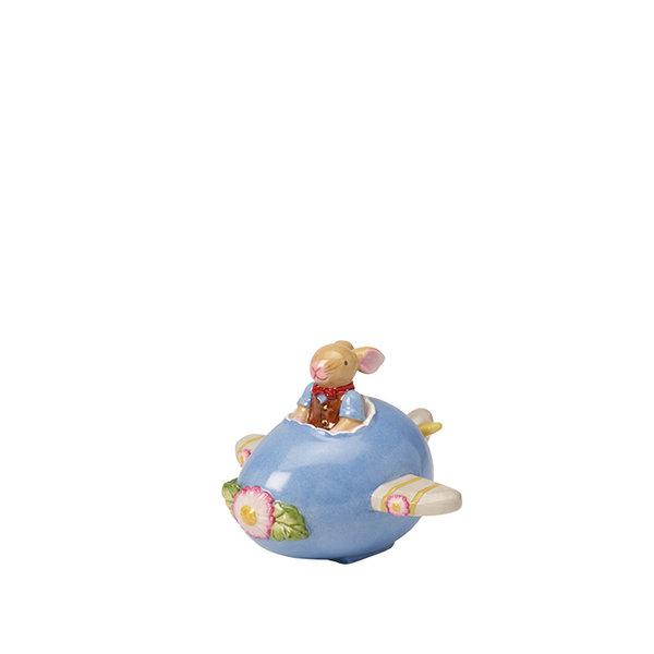 декоративна фигура Villeroy & Boch, Bunny Family Egg airplane