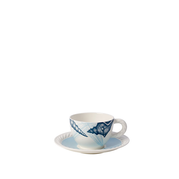 чаша и чинийка за кафе Villeroy & Boch, Montauk Beachside Coffee