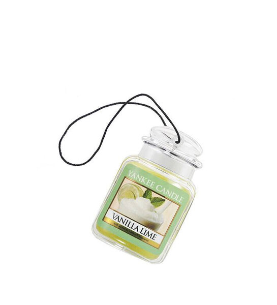 ароматизатор за кола Yankee Candle Vanilla Lime Car Jar® Ultimate