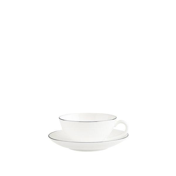 чаша и чинийка за чай Villeroy & Boch, Anmut Platinum No.1 Tea cup
