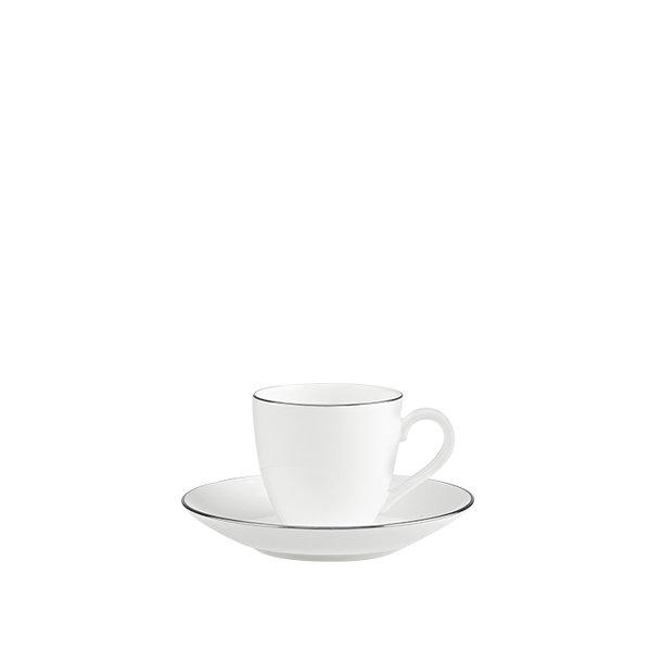 чаша и чинийка за еспресо Villeroy & Boch, Anmut No.1 Platinum Espresso