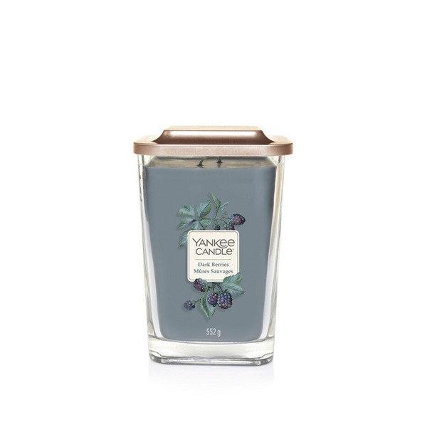 ароматна свещ голям буркан Yankee Candle Elevation Dark Berries