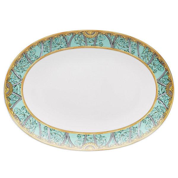 плато Versace Scala Palazzo Verde Platter 33