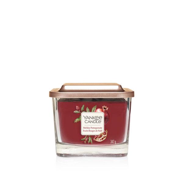 ароматна свещ среден буркан Yankee Candle Elevation Holiday Pomegranate