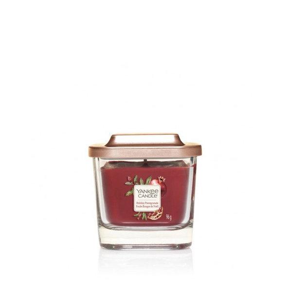 ароматна свещ малък буркан Yankee Candle Elevation Holiday Pomegranate