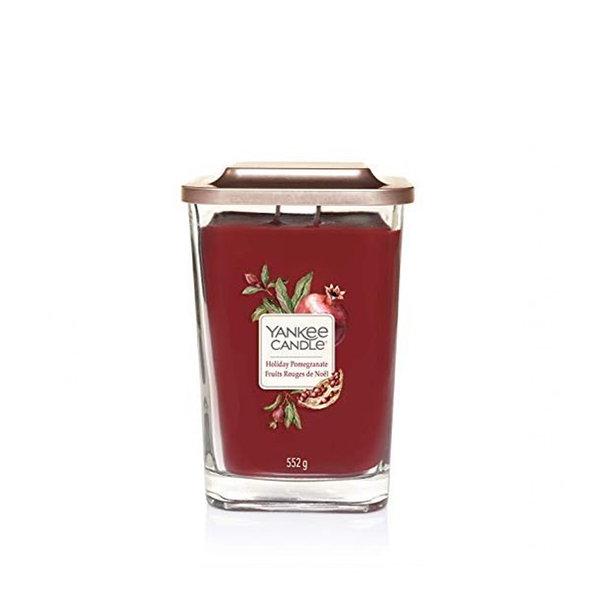 ароматна свещ голям буркан Yankee Candle Elevation Holiday Pomegranate