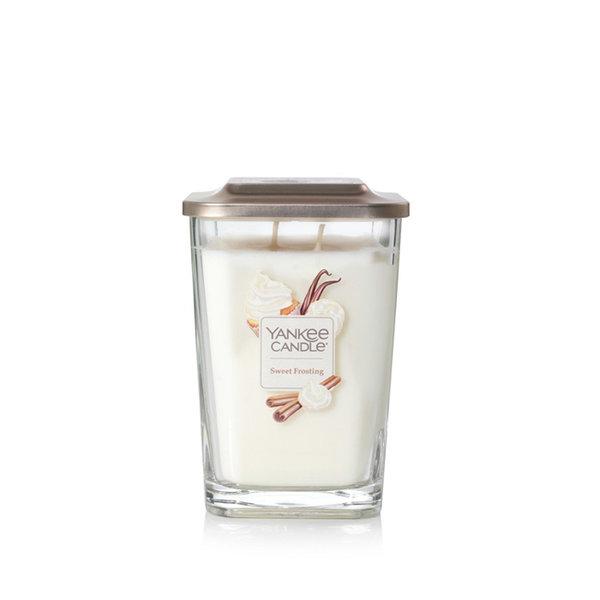 Свещ голям буркан Yankee Candle Elevation Sweet Frosting