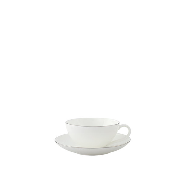 чаша и чинийка за кафе Villeroy & Boch, Anmut Platinum No.1 Coffee