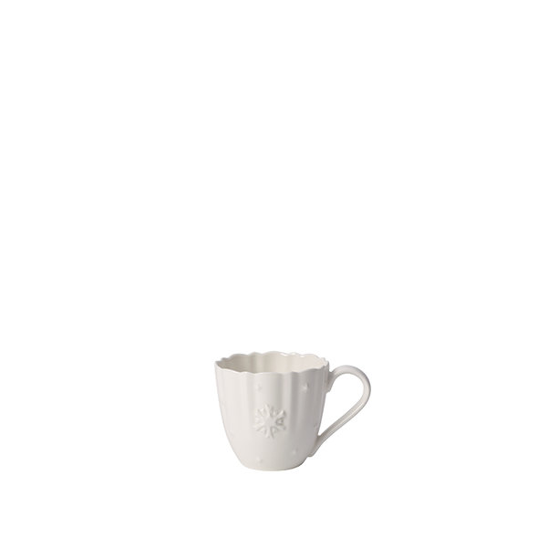бяла чаша и чинийка Villeroy & Boch, Toy's Delight Royal Classic Coffee