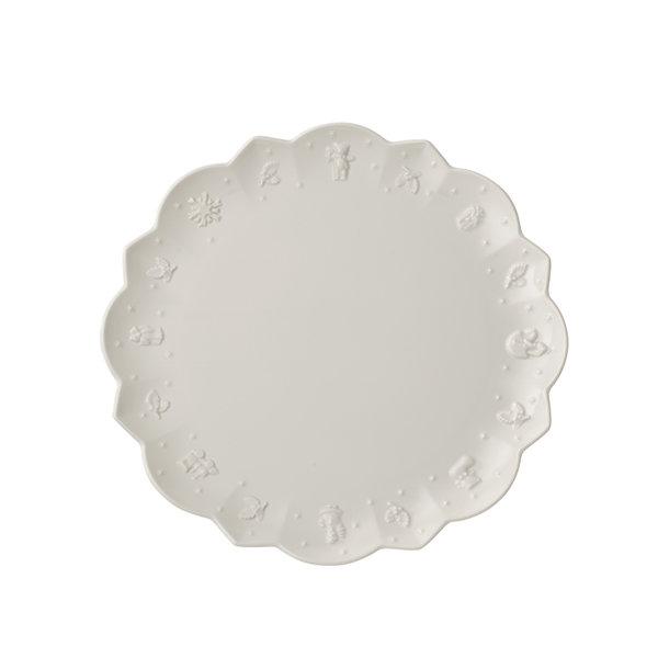 бяла основна чиния Villeroy & Boch, Toy's Delight Royal Classic Flat