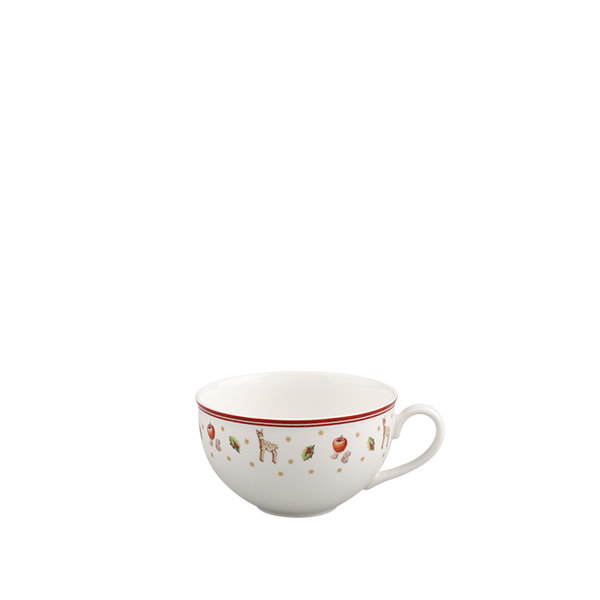 бяла чаша и чинийка Villeroy & Boch, Toy's Delight White coffee cup