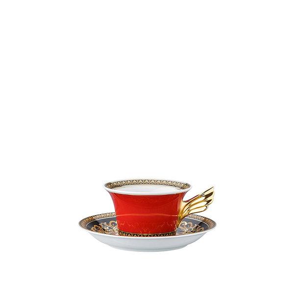 чаша и чинийка за чай Versace Medusa Tea cup & saucer / 25 years