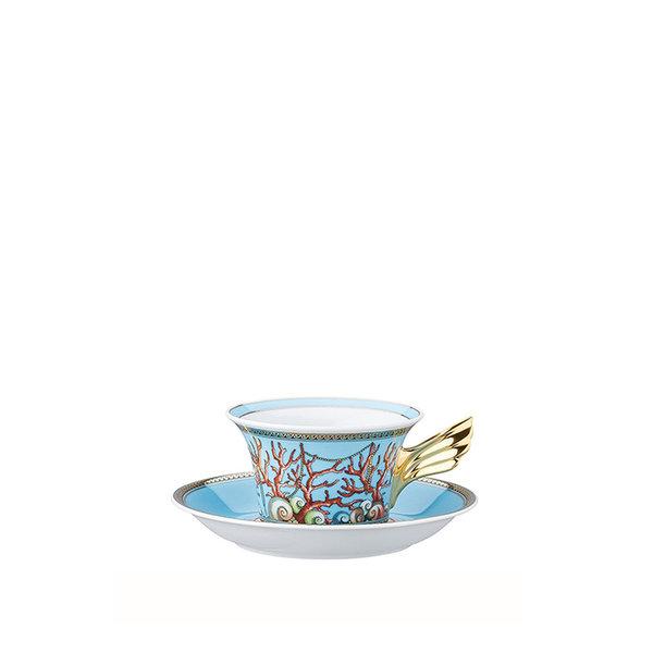 чаша и чинийка за чай Versace Les Tresors de la Mer Tea cup & saucer