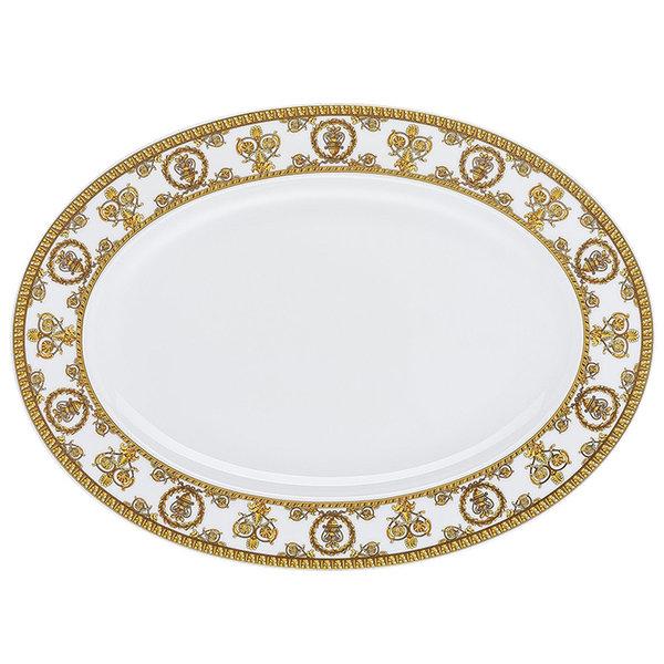 плато Versace Baroque Bianco Platter 34