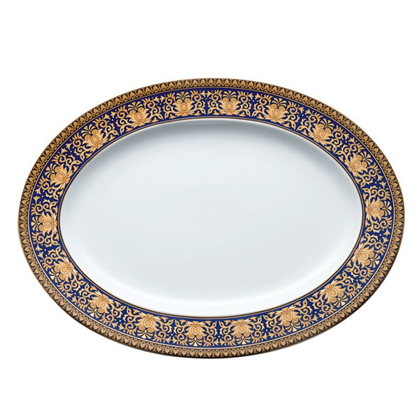 плато Ikarus Medusa blue Platter 34