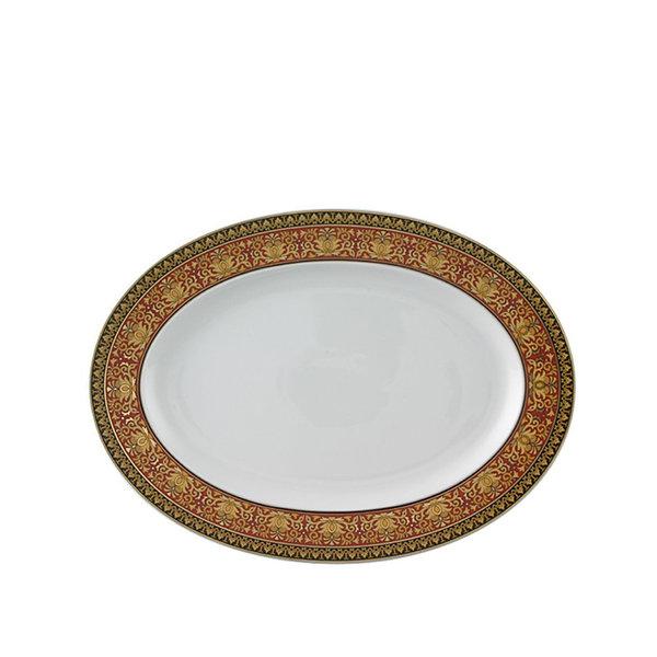 плато Versace Ikarus Medusa Red Platter 34