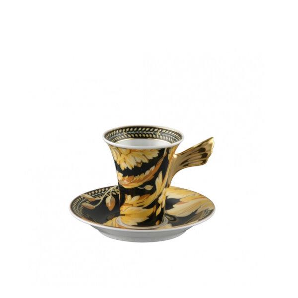 чаша и чинийка за еспресо Versace Ikarus Vanity espresso