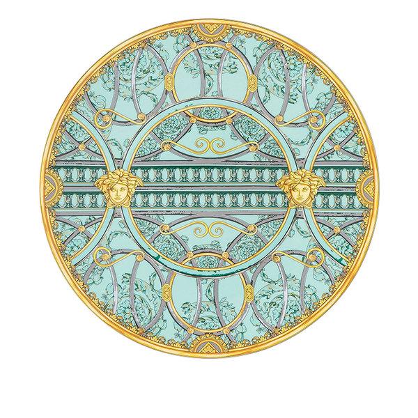 подложна чиния Versace Scala Palazzo Verde Service plate 33 cm