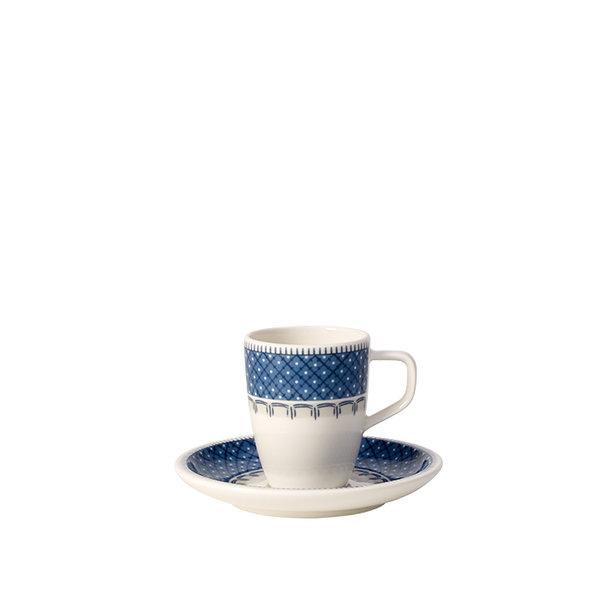 чаша и чинийка за еспресо Villeroy & Boch, Casale Blu Espresso