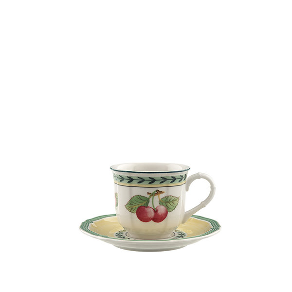 чаша с чинийка за еспресо Villeroy & Boch, French Garden Fleurence Espresso