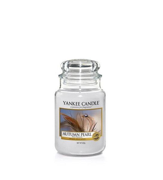 Свещ голям буркан Yankee Candle Autumn Pearl
