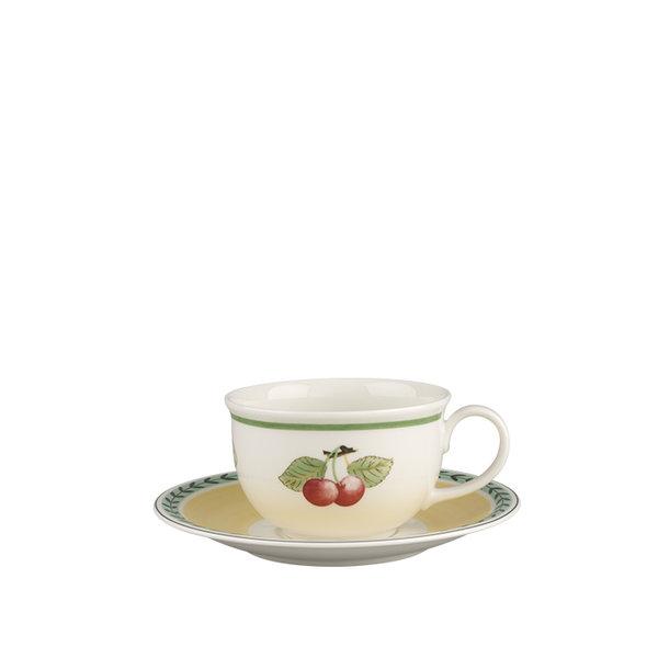 чаша и чинийка за кафе Villeroy & Boch, Charm & Breakfast French Garden XL