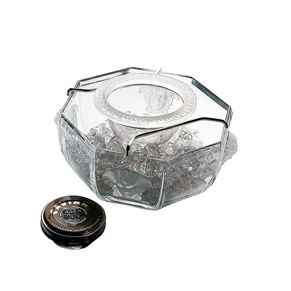 купа за хайвер Versace Medusa Lumiere Caviar bowl with insert