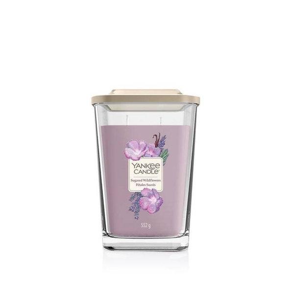 Свещ голям буркан Yankee Candle Elevation Sugared Wildflowers