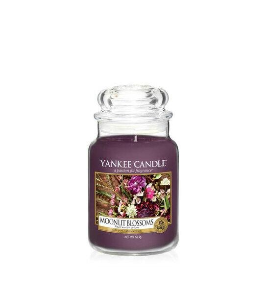 Свещ голям буркан Yankee Candle Moonlit Blossoms