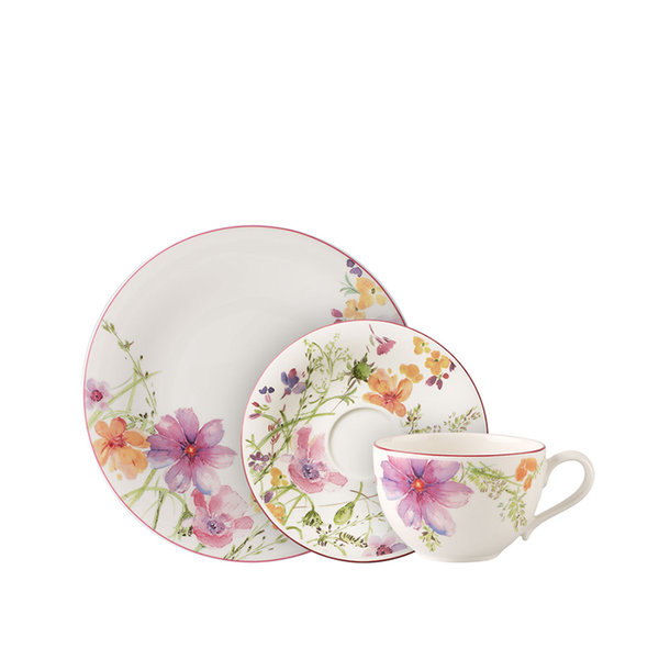 сервиз за хранене Villeroy & Boch, Mariefleur Basic Dinner set 12