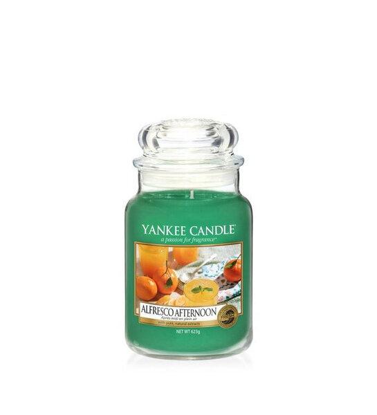 Свещ голям буркан Yankee Candle Alfresco Afternoon