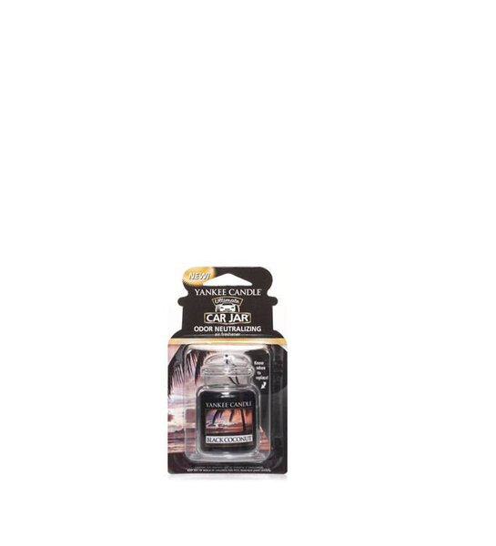 ароматизатор за кола Yankee Candle Car Jar® Ultimate Black Coconut