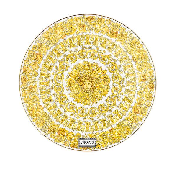 подложна чиния Versace Medusa Rhapsody Service plate 33 cm